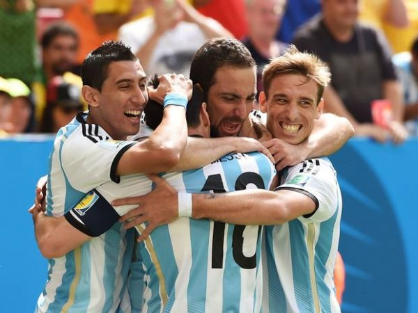 Higuain goal 600x450 Argentina vs. Netherlands Predicted Lineups and Team News