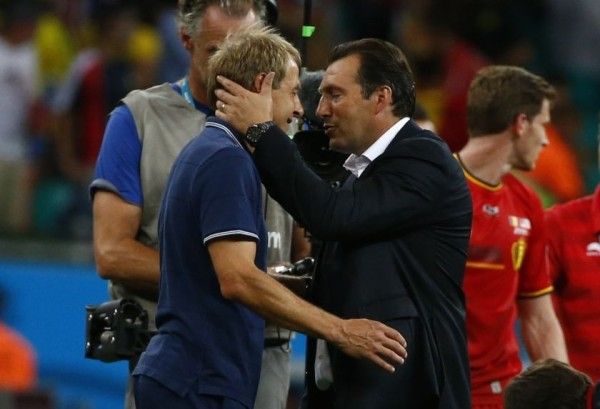 Klinsmann Wilmots1 600x409 Major Catalyst For This Great World Cup Has Been Ingenuity Of Managers