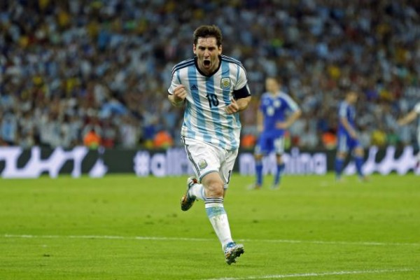 Messi Bosnia 600x400 Argentina vs. Netherlands Predicted Lineups and Team News
