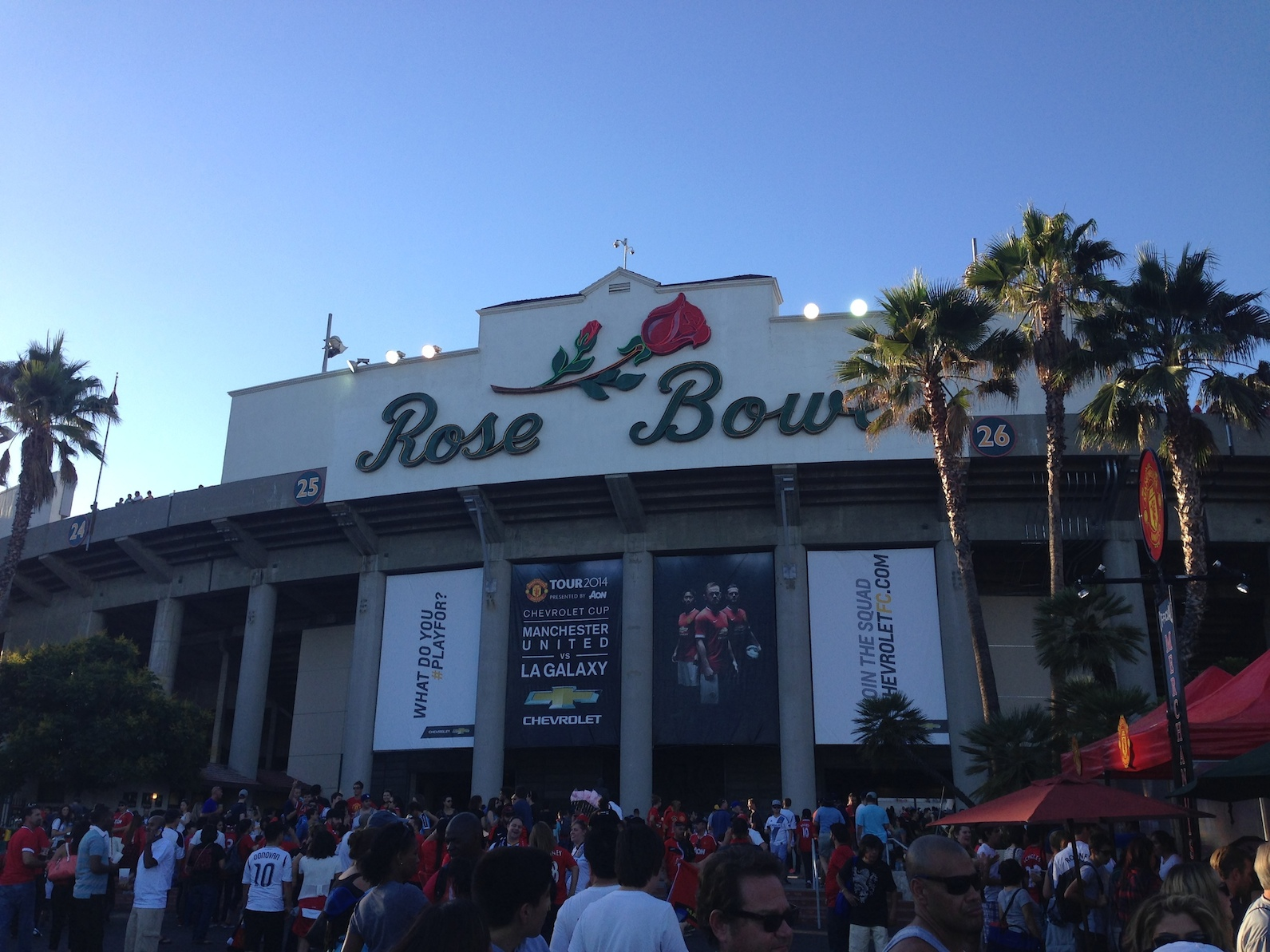 LA Galaxy 0-7 Manchester United: What the Matchday Experience Was Like at the Rose Bowl