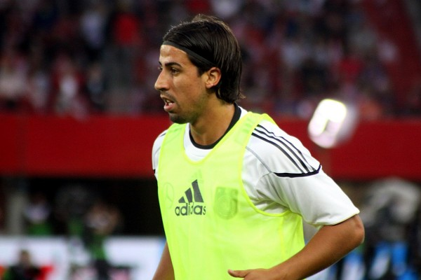 Sami Khedira 600x400 How Sami Khedira Would Fit In At Arsenal