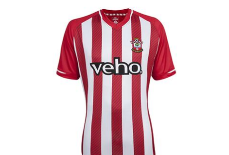 Screen Shot 2014 07 05 at 4.49.58 PM The Stripes Are Back! Southamptons Home Shirt For 2014/15 Season Returns With Classic Design