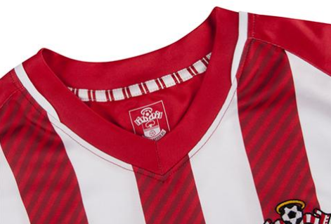 Screen Shot 2014 07 05 at 4.50.30 PM The Stripes Are Back! Southamptons Home Shirt For 2014/15 Season Returns With Classic Design