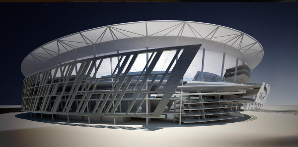 Screen Shot 2014 07 24 at 9.25.25 AM 600x297 AS Romas New Stadium Will Showcase Club Ambitions And Pay Tribute To Romes History
