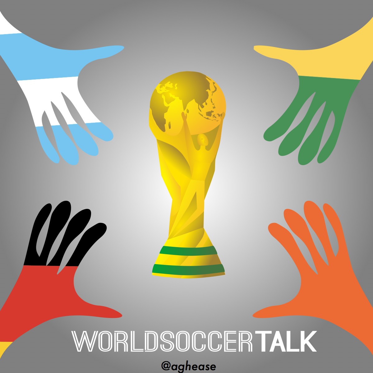 World Cup 2014 Semi Finals Holland Argentina Brazil Germany