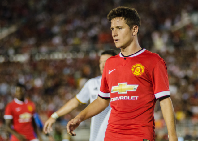 Manchester United midfielder Ander Herrera Relishing The Prospect of Playing in The FA Cup