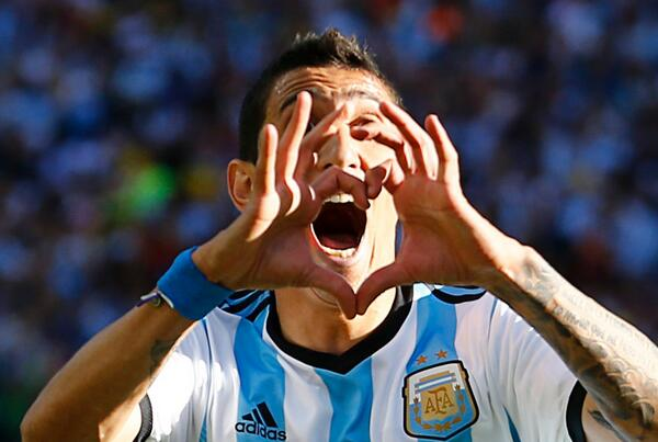 angel di maria Argentinas Angel Di Maria Out For Remainder of World Cup