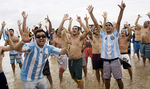 Why there's a Love-Hate Relationship Between Soccer Powers Argentina and Brazil