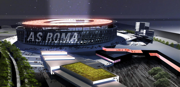 as roma village 600x292 AS Romas New Stadium Will Showcase Club Ambitions And Pay Tribute To Romes History