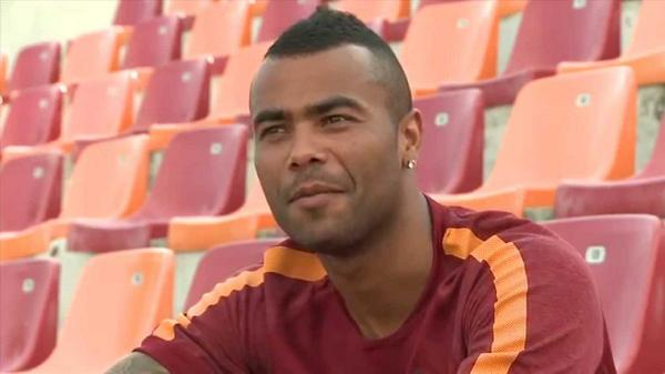 ashley cole1 Ashley Cole Gives His First Interview As A Roma Player [VIDEO]
