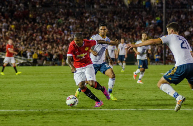 ashley young LA Galaxy 0 7 Manchester United: A Night to Remember For Red Devils Fans [PHOTOS]