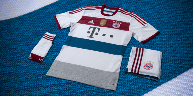 bayern munich away shirt Bayern Munich Unveils Away Shirt For 2014/15 Season: Official [PHOTOS]