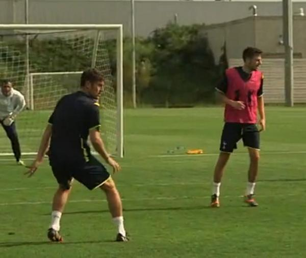 ben davies tottenham Ben Davies Spotted Training With Tottenham Hotspur [PHOTOS]