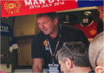 bryan robson 150x106 Manchester United vs Inter Milan, International Champions Cup In Maryland [PHOTOS]