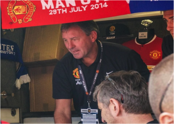 bryan robson 600x427 Manchester United vs Inter Milan, International Champions Cup In Maryland [PHOTOS]
