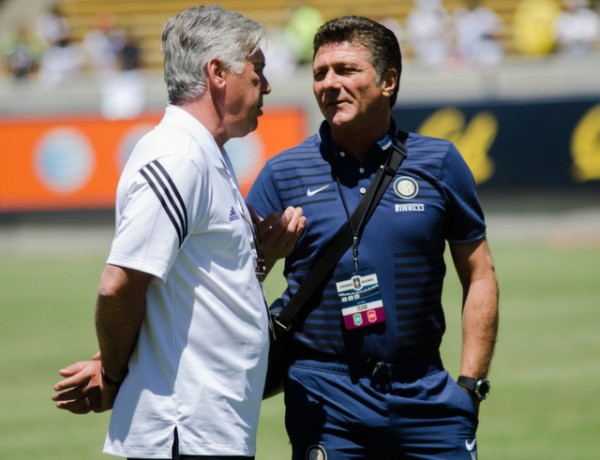 carlo ancelotti walter marazzi 600x460 Real Madrid vs Inter Milan: International Champions Cup Game at Berkeley [PHOTOS]