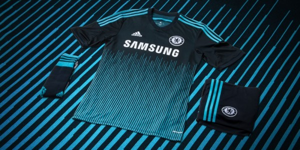 chelsea third shirt group 600x300 Chelsea Reveal Third Shirt For 2014/15 Season: Official [PHOTOS]