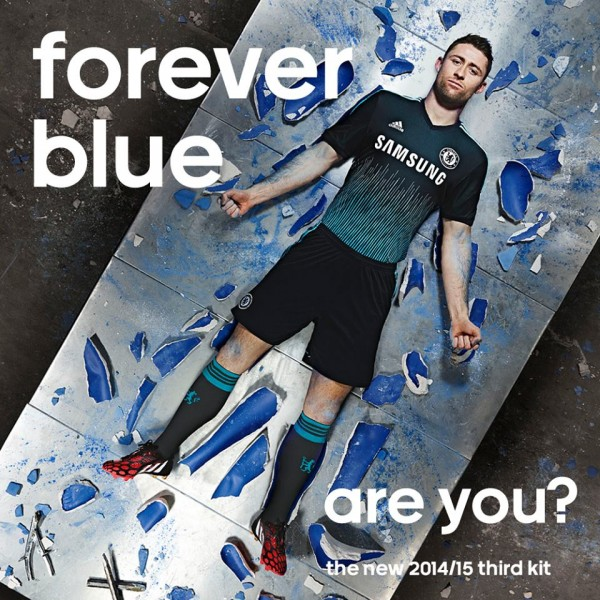 Chelsea Reveal Third Shirt For 2014/15 Season: Official [PHOTOS]