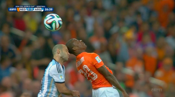 clashofheads After Javier Mascherano Collision, FIFA Must Take Head Injuries More Seriously