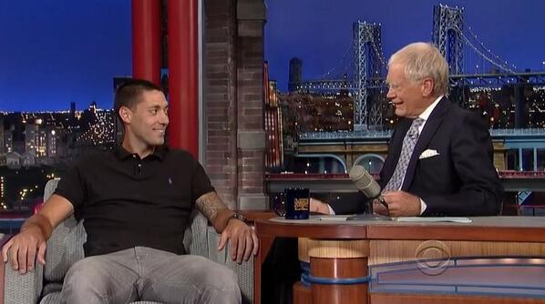 WATCH Clint Dempsey's Appearance on the David Letterman Show [VIDEO]