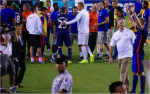 darren fletcher 150x94 Manchester United vs Inter Milan, International Champions Cup In Maryland [PHOTOS]