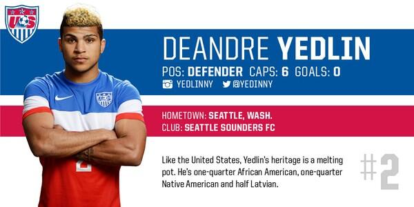 Lyon Join the Chase to Try To Sign USA World Cup Star DeAndre Yedlin
