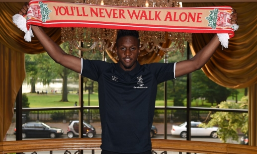 divock origi Official: Liverpool Signs Belgium Striker Divock Origi But Immediately Loans Player to Lille