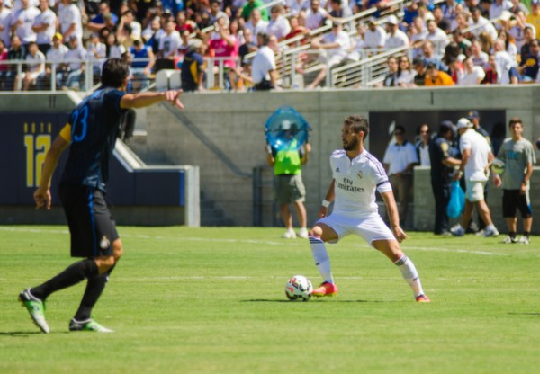 dsc 2012 600x416 Real Madrid vs Inter Milan: International Champions Cup Game at Berkeley [PHOTOS]