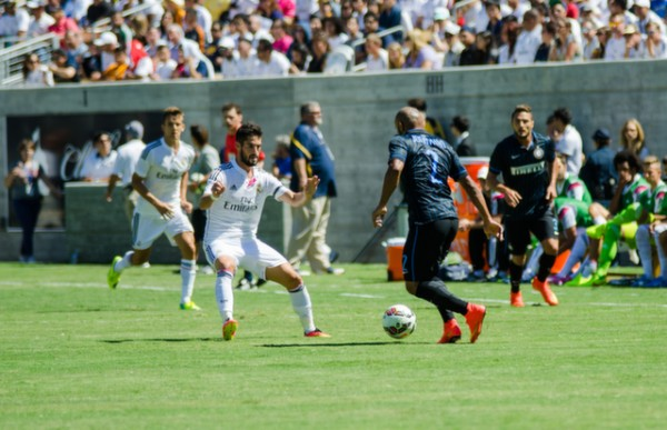dsc 2103 600x387 Real Madrid vs Inter Milan: International Champions Cup Game at Berkeley [PHOTOS]
