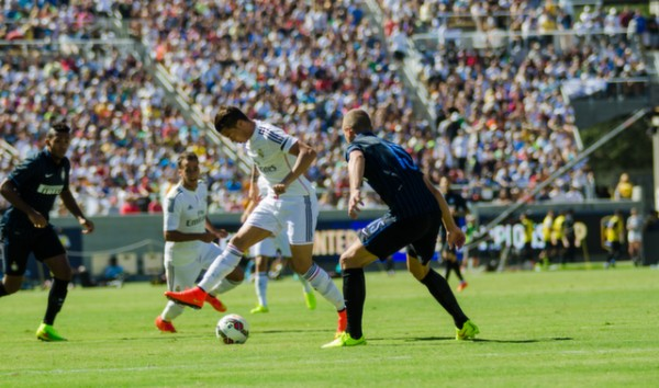 dsc 2309 600x354 Real Madrid vs Inter Milan: International Champions Cup Game at Berkeley [PHOTOS]