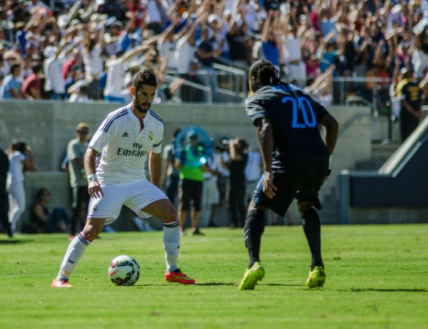 dsc 2387 600x461 Real Madrid vs Inter Milan: International Champions Cup Game at Berkeley [PHOTOS]