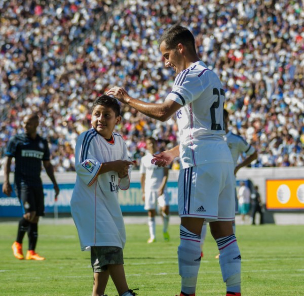 dsc 2540 600x585 Real Madrid vs Inter Milan: International Champions Cup Game at Berkeley [PHOTOS]