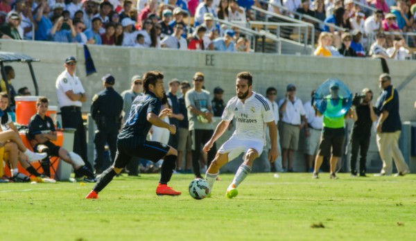 dsc 2582 600x348 Real Madrid vs Inter Milan: International Champions Cup Game at Berkeley [PHOTOS]
