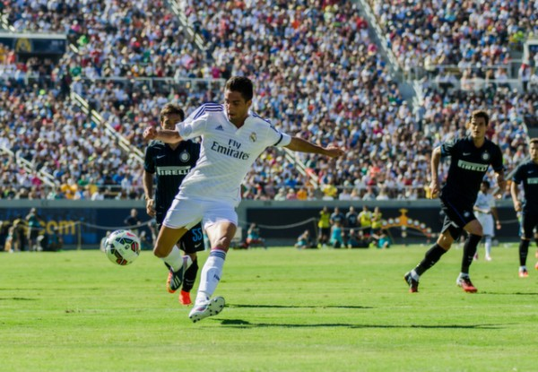 dsc 2674 600x415 Real Madrid vs Inter Milan: International Champions Cup Game at Berkeley [PHOTOS]