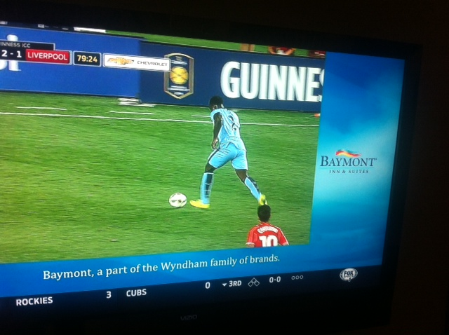fox sports soccer advertising FOX Sports Delivers Cheap Tricks In Its Coverage of Liverpool Manchester City Game