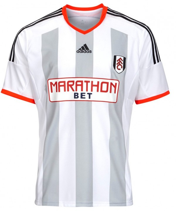 fulham home shirt front 600x721 Fulham Home Shirt for 2014/15 Season: Official [PHOTOS]