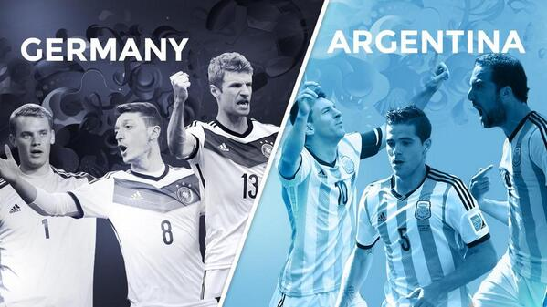 germany argentina1 Who Do You Think Will Win the World Cup Final?
