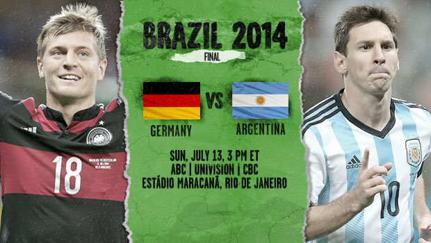 germany argentina3 Germany vs Argentina World Cup Final, Starting Lineups and World Cup Open Thread