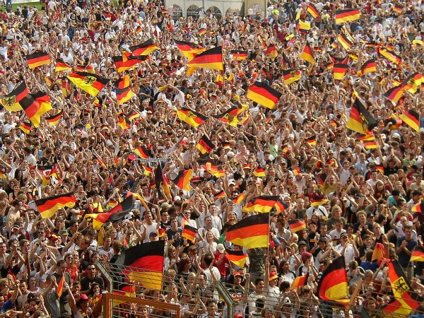 germany celebration 600x450 Germany Face Tense Wait For Qualification