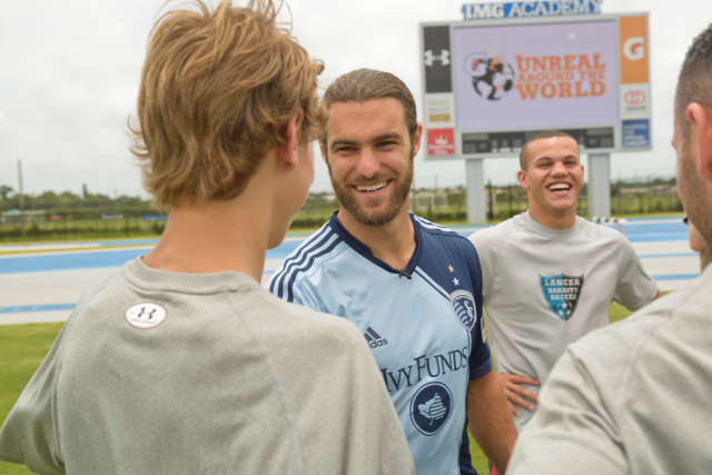 USA World Cup Star Graham Zusi Talks to World Soccer Talk