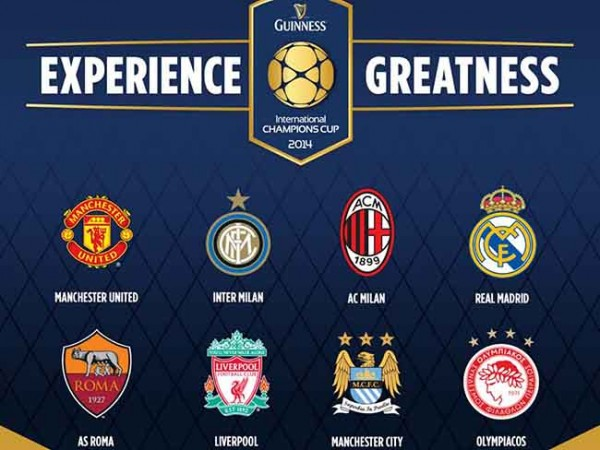 international champions cup 600x450 Inter Milan vs AS Roma, International Champions Cup Open Thread