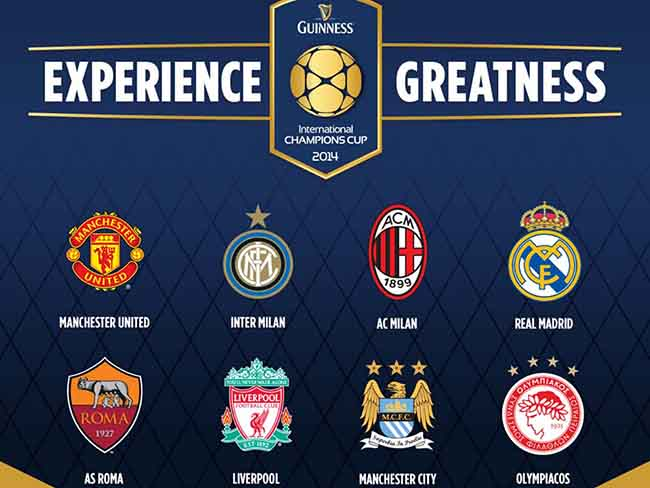 international champions cup AC Milan vs Man City and Liverpool vs Olympiacos, International Champions Cup: Open Thread