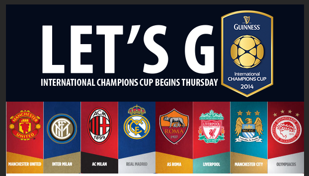 All You Need to Know About the International Champions Cup