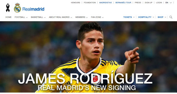 James Rodriguez Completes Real Madrid Move For £63 Million