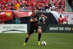 jordan henderson 150x101 Liverpool vs Olympiacos, International Champions Cup Game in Chicago [PHOTOS]