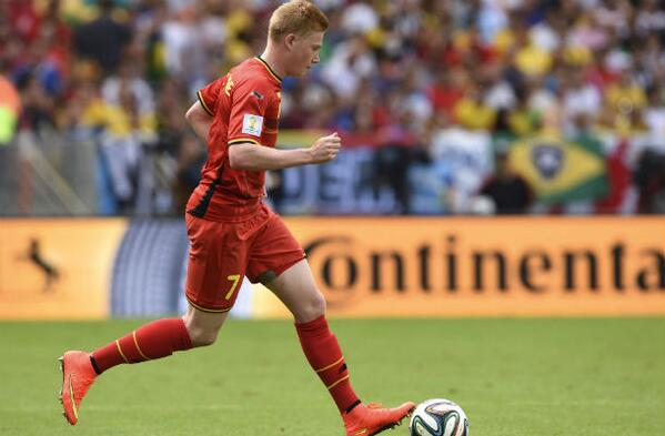 kevin de bruyne Kevin De Bruyne Scores Against USA In Extra Time [VIDEO]