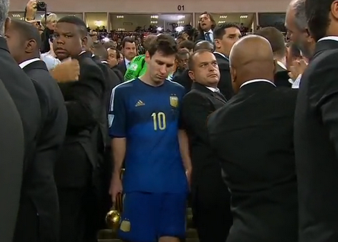 leo messi Messis Lack of Respect to Alejandro Sabella Ends Sour Night For Argentina