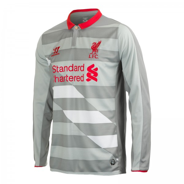 liverpool goalkeeper shirt 600x600 Liverpool Release Third Shirt For 2014/15 Season: Official [PHOTOS]