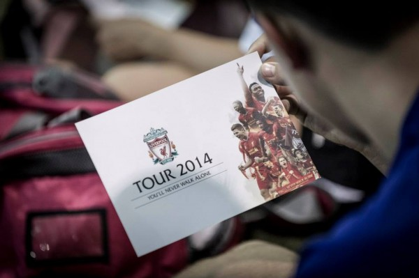 liverpool tour 600x399 Liverpools Personal Touch on the US Tour Creates a Lifetime Bond