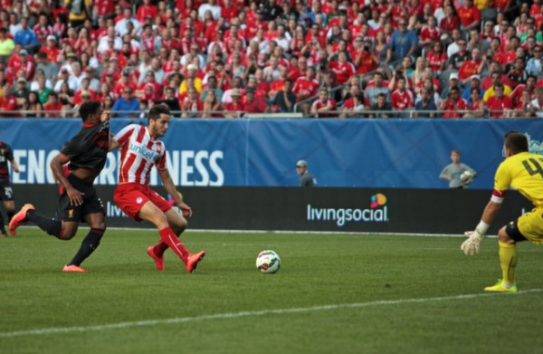 lo20 600x391 Liverpool vs Olympiacos, International Champions Cup Game in Chicago [PHOTOS]